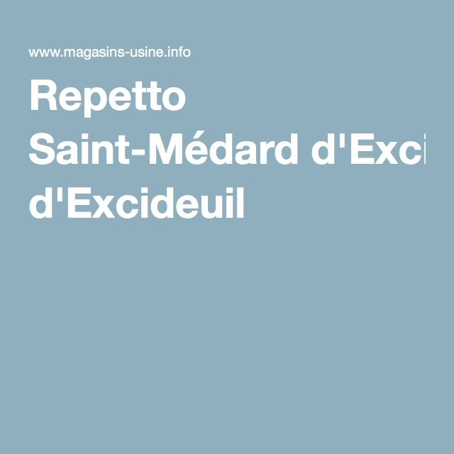Repetto Saint-Médard d'Excideuil