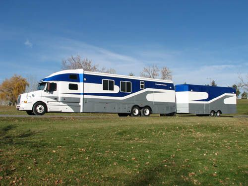 Used Diesel Trucks >> powerhouse coach motorhome | This Luxury Coach is built with a used 2000 Volvo model 770truck ...