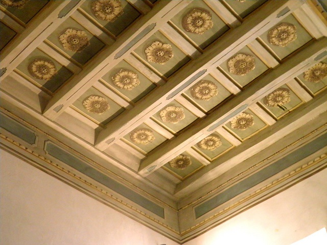 soffitto decorato cassettoni legno by pandecora (interior decorative painter), via Flickr