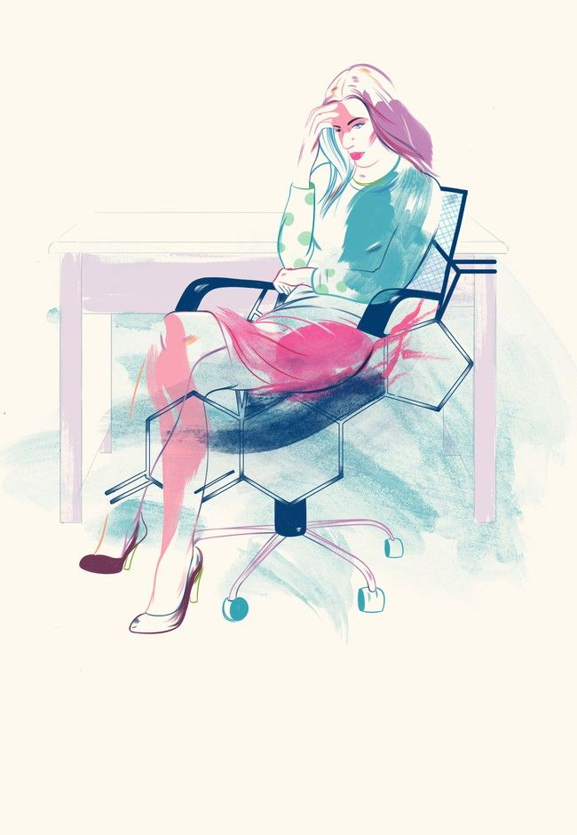 Is stress making your tired? | Good Magazine | Illustrations UNA Studio | By Ben Warren