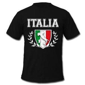 Vintage Italian Flag Crest