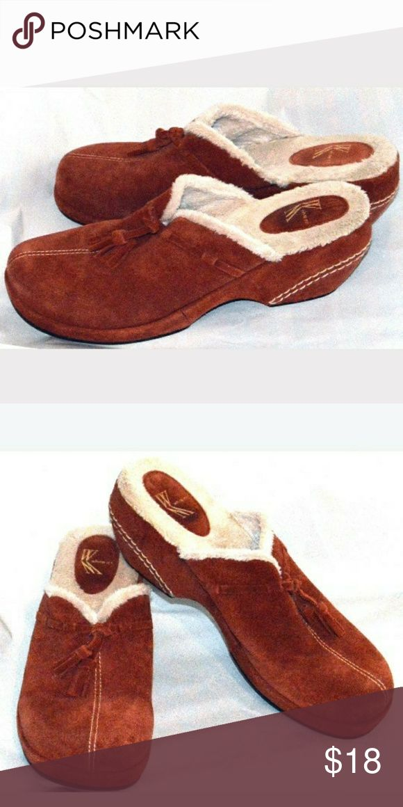 White Mountain size 9 never worn Rust colored excellent condition new with box sz 9 White Mountain Shoes Mules & Clogs