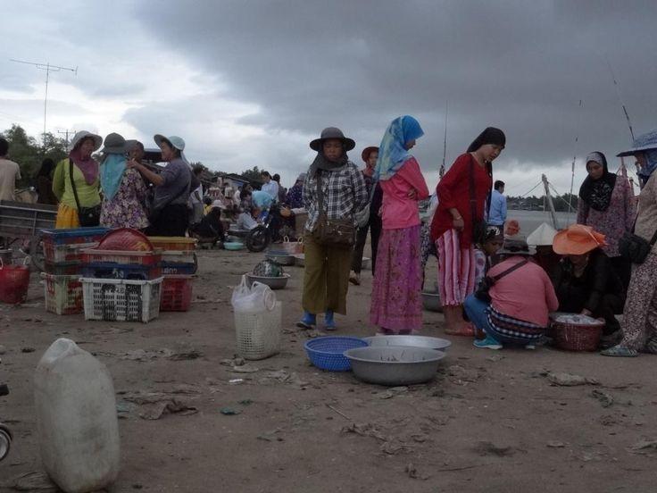 Cambodia, fishmarket