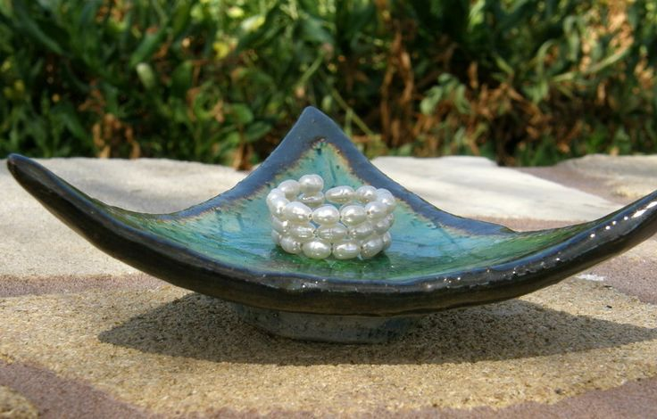 Ringe - Suesswasserperlen-Spiralring - ein Designerstück von SonnenRegenschein bei DaWanda