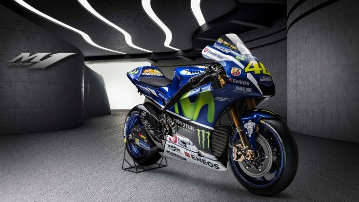 2016 #Yamaha Racing MotoGP Valentino Rossi YZF M1 Studio Photos and Details Promo Video