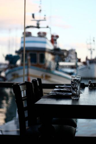 This is my Greece | Mikrolimano a little harbor for fishing boats and luxury yachts with lots of fish restaurants in Kastella, Piraeus