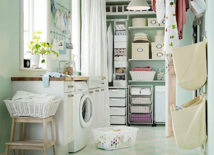 ikea laundry room