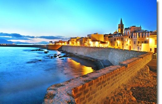 Alghero, Sardegna (Italy). On the west side of Sardegna island you will find a beautiful town, know for its ancient mixture with Spanish culture and language