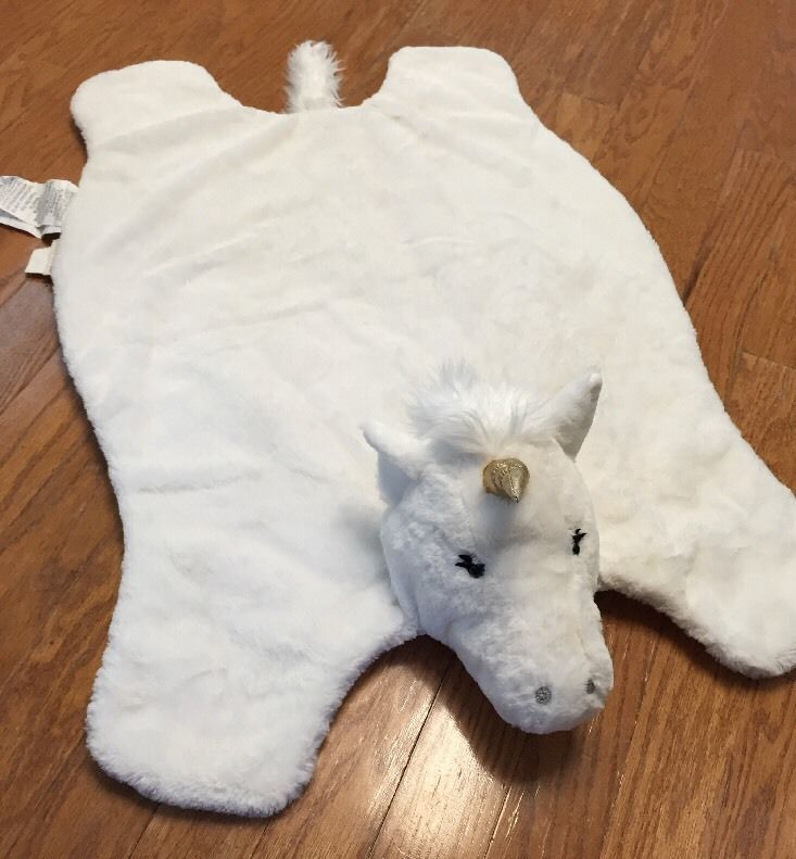 Pottery Barn Kids Baby Unicorn Floor Mat Play Mat Playmat