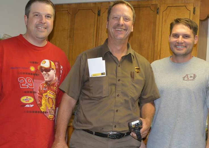 BROWN  Our favorite UPS driver retires 2014.  Goodbye Paul King, Good Luck! Brian, Paul and John  www.pdrtool.com
