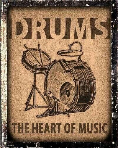 The Heart of Music  - #Drums #Drumming