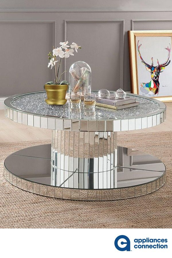 Ornat Collection Living Room Table Set With 40 Coffee Table And