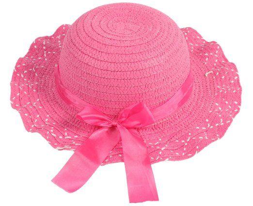 hengsong enfants dentelle t bob chapeau de paille chapeau