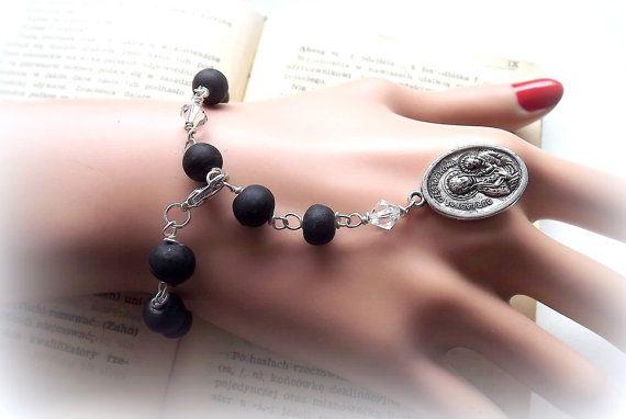 Jewellery. Bracelet. Catholic jewelry. Catholic by AcoyaJewellery