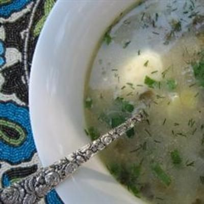 #recipe #food #cooking Spring Greens Borscht