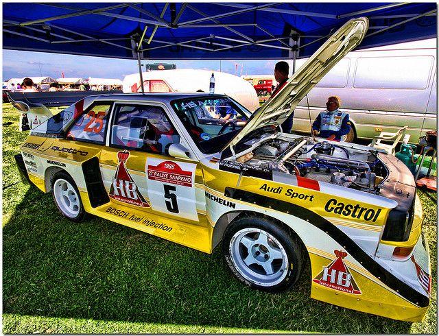 audi sport quattro group b rally car silverstone classic. Black Bedroom Furniture Sets. Home Design Ideas