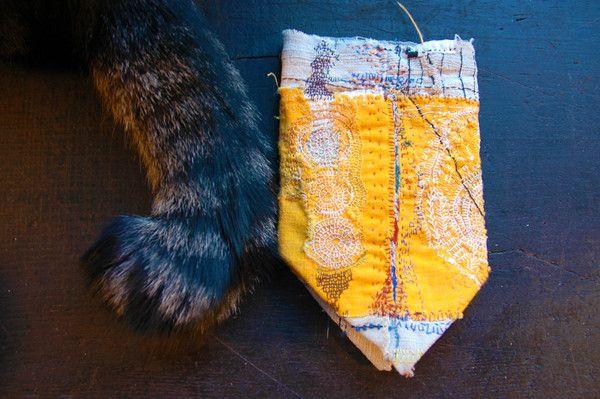 Woky Shoten!: Junkooki, Cat Tail, Embroidery Techniques, Color, Junko Oki, Bit Abandoned, Woki Shoten, Jewelleryjuko Oki, 12 Woki
