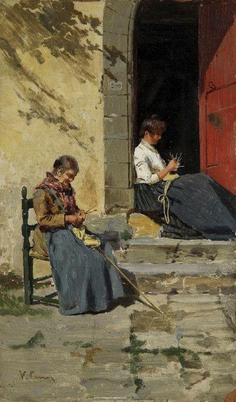Vittorio Corcos Le merlettaie 1880/1885
