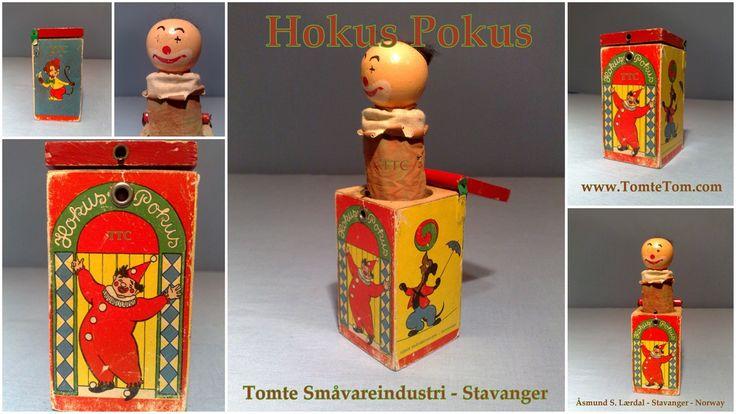 Tomte Hokus Pokus - Troll-in-a-box