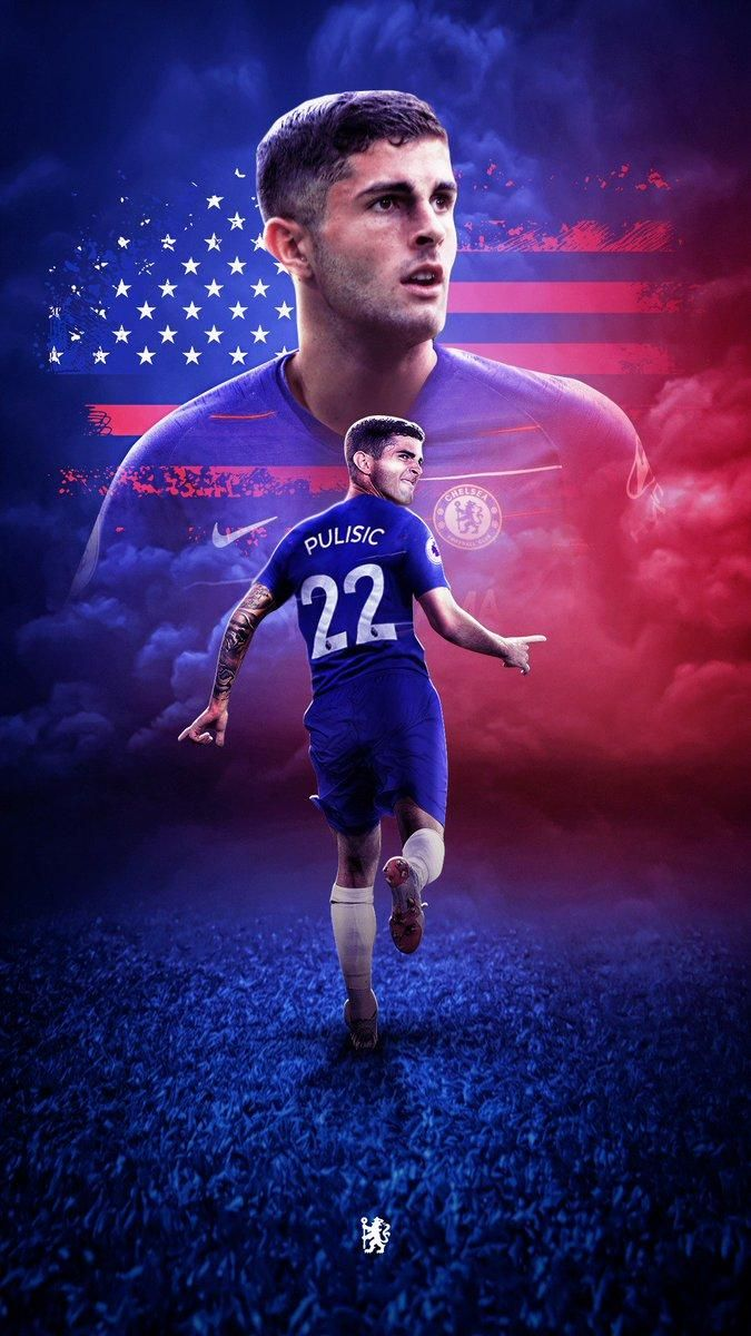 Christian Pulisic Wallpaper For Mobile Phone Tablet Desktop Computer And Other Devices Hd In 2020 Christian Pulisic Chelsea Football Club Wallpapers Chelsea Players