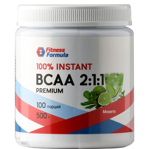 Fitness Formula Fitness formula BCAA 2:1:1 500 г.