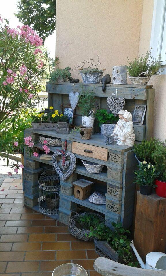 Palettenpflanztisch In Bayern Pfatter Ebay Kleinanzeigen Vintage Gartendekoration Gartendesign Ideen Paletten Garten