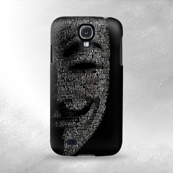 CoolStyleClothing.com - S0839 V Mask Guy Fawkes Anonymous Case Cover For Samsung Galaxy S4, $19.99 (http://www.coolstyleclothing.com/s0839-v-mask-guy-fawkes-anonymous-case-cover-for-samsung-galaxy-s4/)