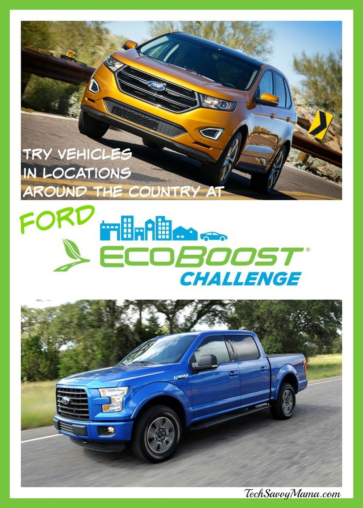 Ford Offers EcoBoost Challenge Tour for Consumers to Try Vehicles in Locations Around the Country #EcoBoostChallenge