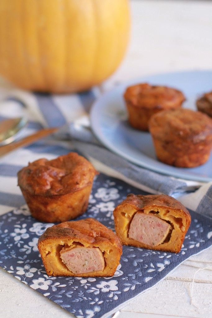 Pumpkin sausage muffins recipe