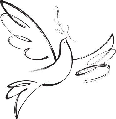 Peace dove tattoo