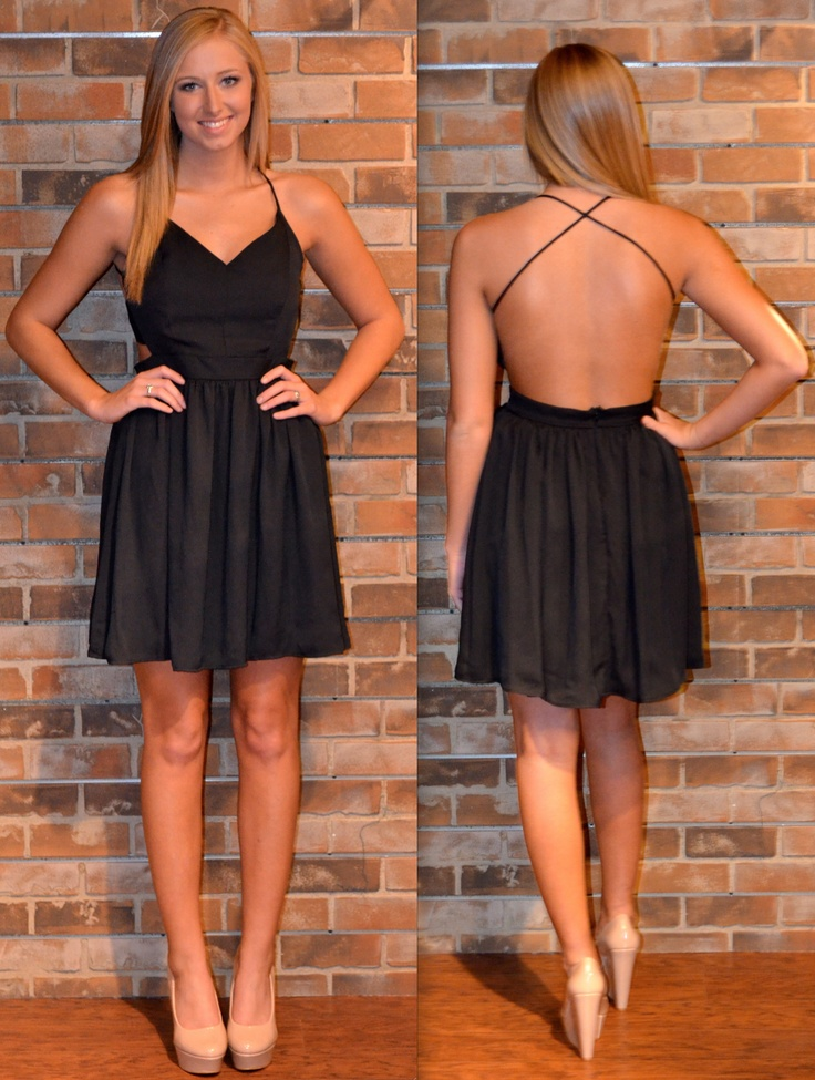 little black dress. simple