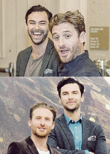 Dean O'Gorman and Aidan Turner. THe boys are just absolutely beautiful, cute, adorable, sexy and handsome in one!