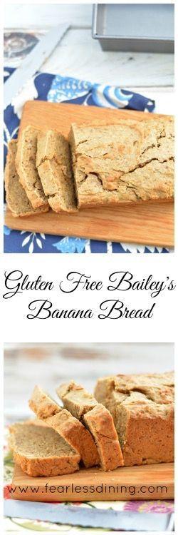 Gluten Free Bailey's Banana Bread  http://www.fearlessdining.com
