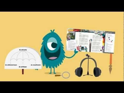 Taal actief Spellinganimatie woorden met aai, ooi en oei - YouTube