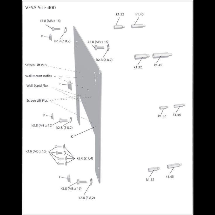 loewe vesa adapter chrome | eBay