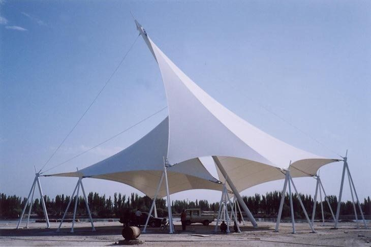 Temporary Tensile Fabric Structure Roof Tensile