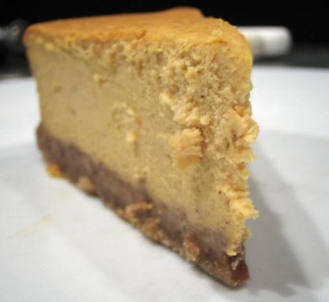Cheesecake Factory Pumpkin Cheesecake recipe. This is amazing and way better than regular pumpkin pie!