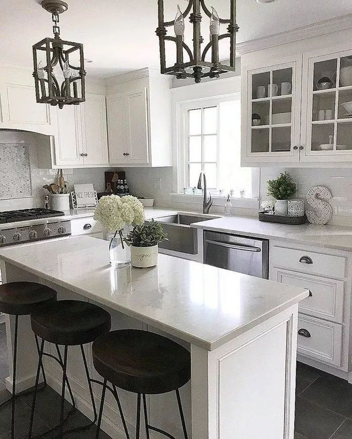 80+ Awesome Decorating Ways for Your Kitchen Design Ideas and Remodel | texasls.org