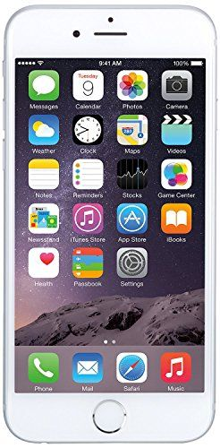 Apple iPhone 6 Silver 128GB Unlocked Smartphone (Certified Refurbished)  What's in the box: Certified Refurbished iPhone 6 Silver 128GB Unlocked , USB Cable/Adapter. Comes in a Generic Box with a 1 Year Limited Warranty. This Certified Refurbished product is tested and certified to look and work like new, with limited to no wear. The refurbishing process includes functionality testing, inspection, and repackaging. The product is backed by a minimum 90-day warranty, and may arrive in ..