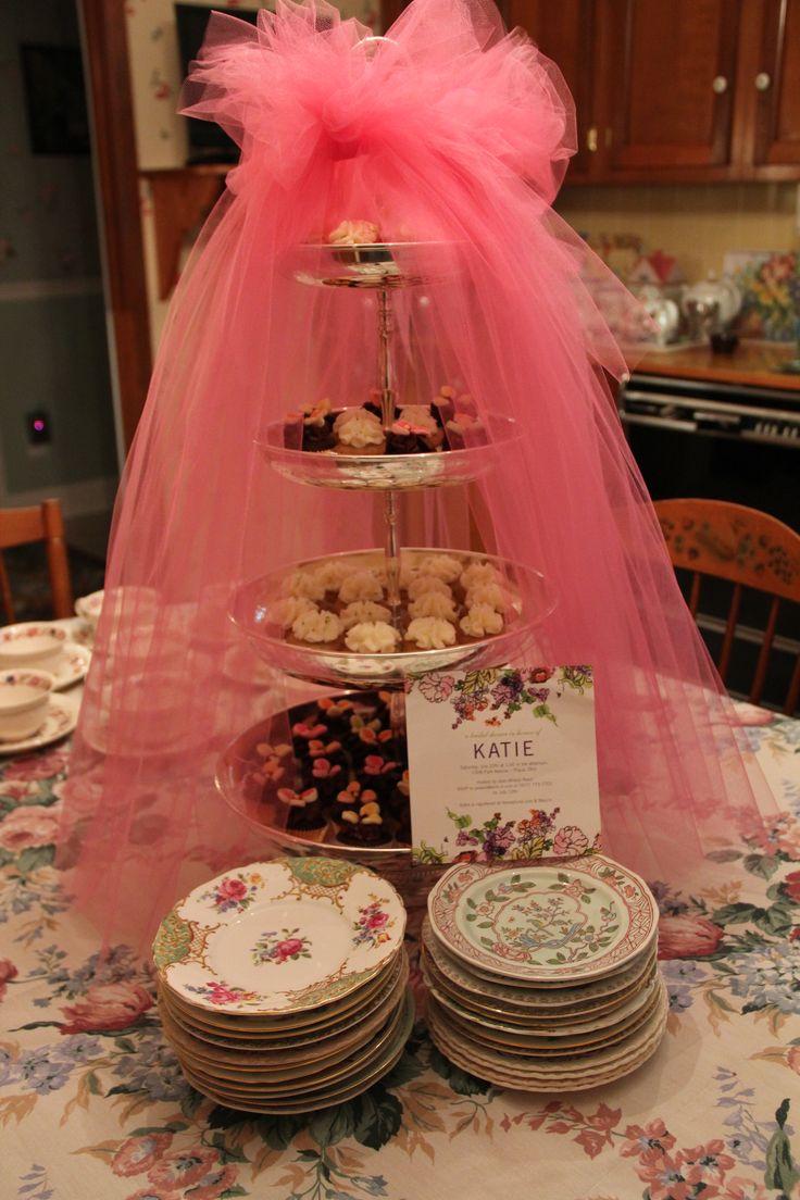 Bridal Shower Cupcake Display!