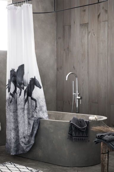 Duschvorhang mit Fotodruck | H&M