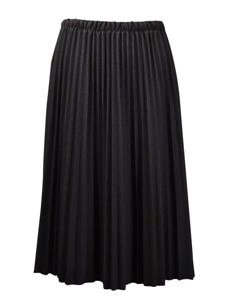 Alfred Dunner Women's Pleated Stretch A-Line Skirt