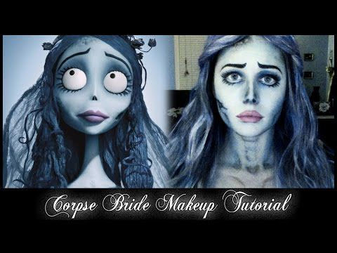 Corpse Bride Emily Makeup Tutorial - YouTube