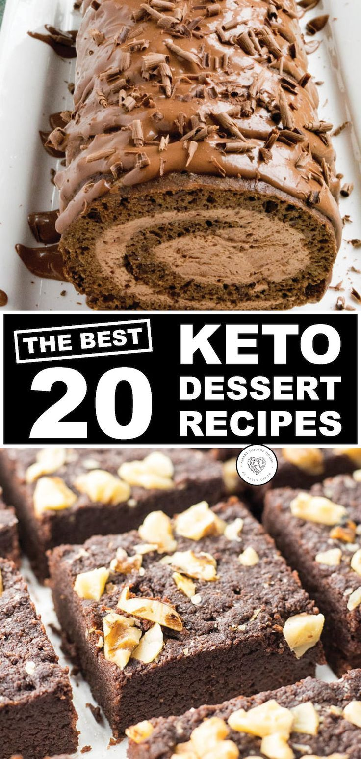Keto-Friendly Dessert Recipes Keto Sweets Pictures