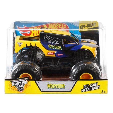 Hot Wheels Monster Jam 1:24 Wolverine Die-Cast Vehicle, Assorted