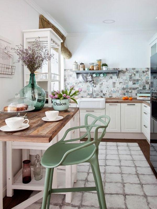 Claves para una cocina vintage