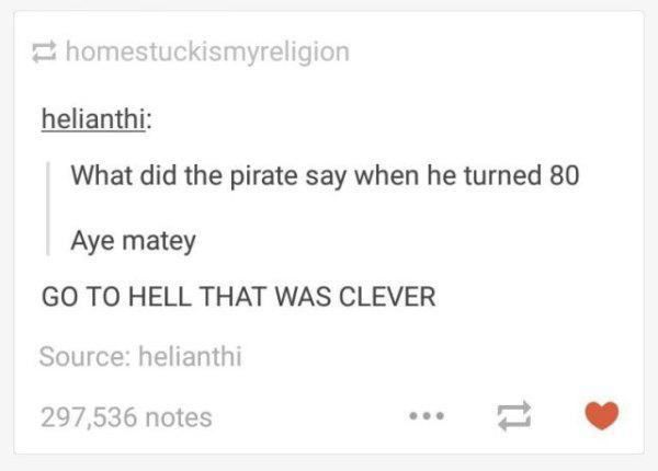20 Posts That Prove Tumblr Users Are the Kings of Puns | Pleated-Jeans.com