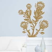 Love this protea vinyl wall sticker by mywalltattoos PRODUCTS : Wall Stickers Online Shop in South Africa | My wall tattoos wall decals and vinyl wall art | designer decals and vinyl wall decoration | mywalltattoos