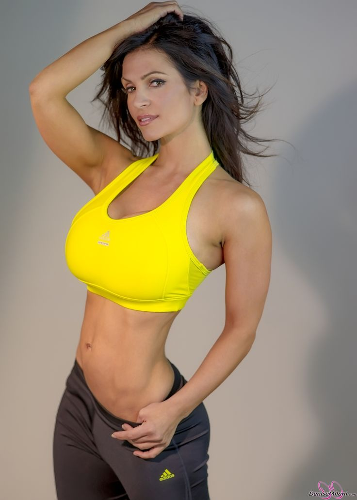Denise Milani Preview Of Her Set Yellow Workout Malini Beauty