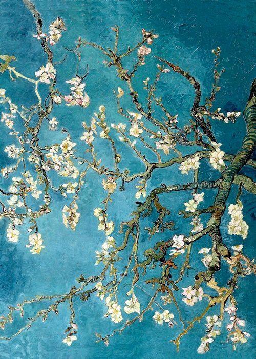 audreylovesparis: Vincent Van Gogh ~ árbol de almendra floreciente